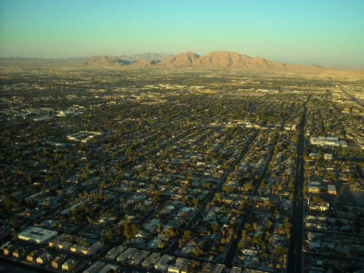 17. Paradise, Nevada, just south of Las Vegas, has a population of 223,167.