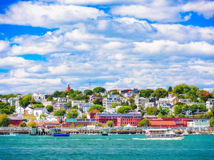 24. Portland, Maine, has a population of 66,417.