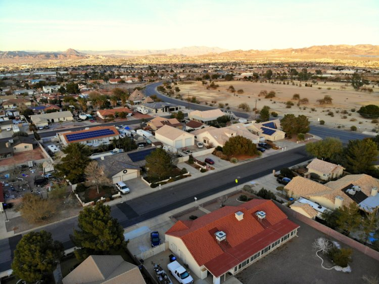 25. Henderson, Nevada, located to the southeast of Las Vegas, has a population of 320,390.